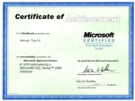 Microsoft - 2072 Administering a MS SQL Server 2000 Database - 04-2005